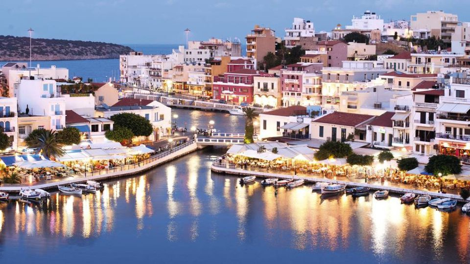 crete sea side villiage