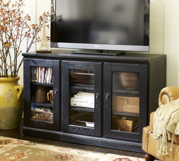 pottery barn white tv stand clutter hacks for your home