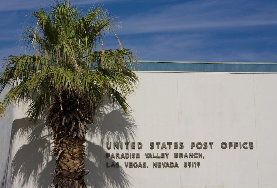 Post office in Las Vegas