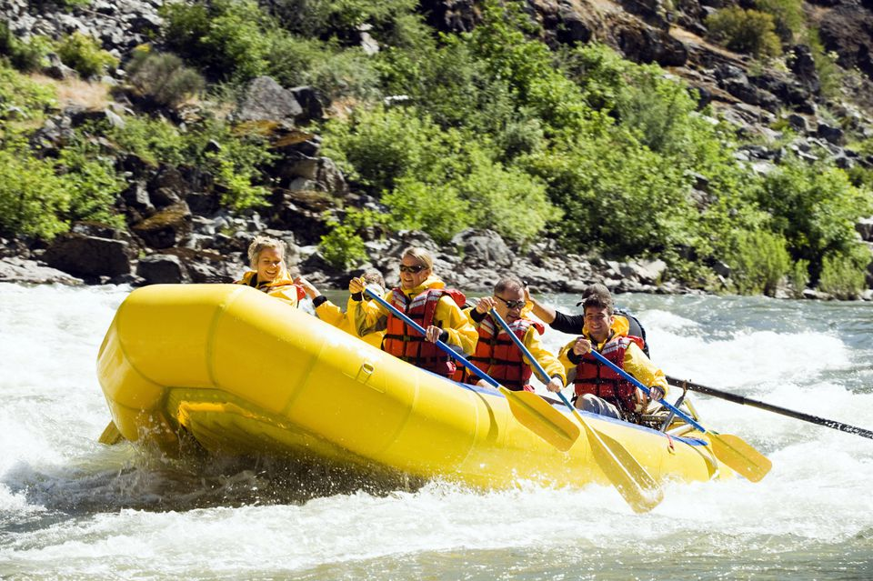 White Water Rafting on the Rogue River in Oregon