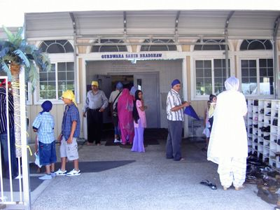 Gurdwara Entrance