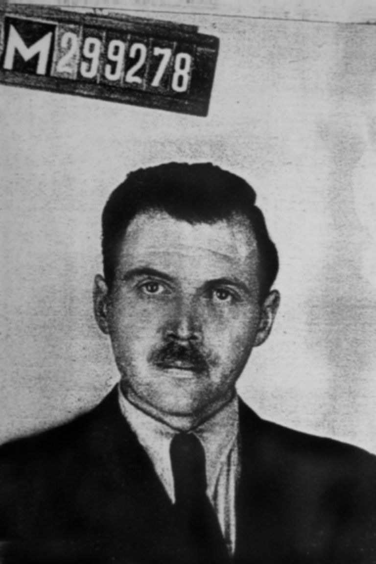 Photo from Mengele's Argentine identification document (1956)