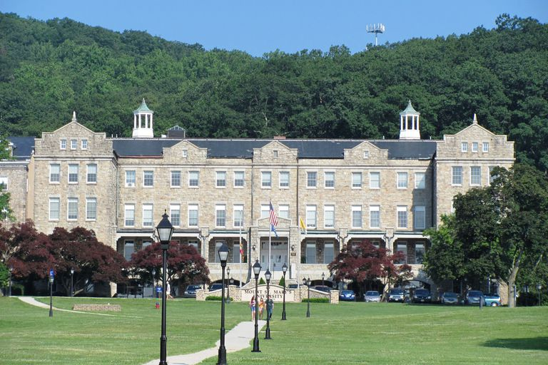 Bradley Hall at Mount St. Mary's University in Maryland