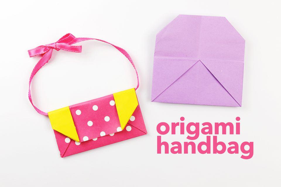 origami handbag instructions