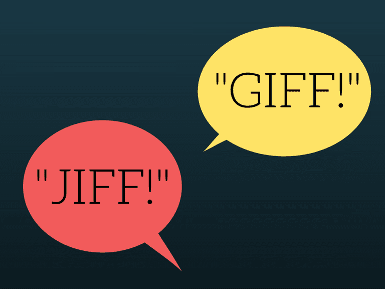 How to Pronounce 'GIF'