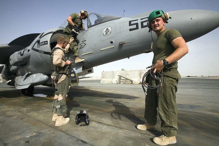Afghanistan - Military - AV-8B Harrier Aircraft Mission