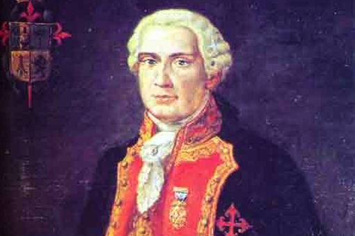 A painting of the 1st Count of la Conquista, held at the Museum of Casa Colorada in Santiago de Chile.