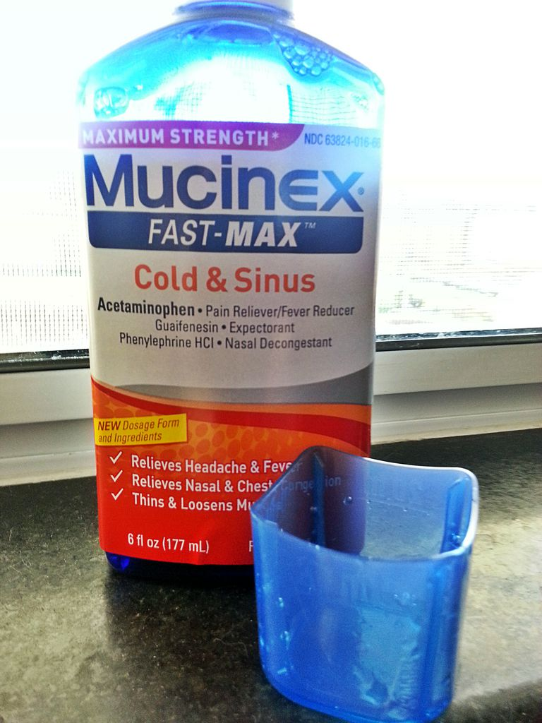 Mucinex for Cold & Sinus