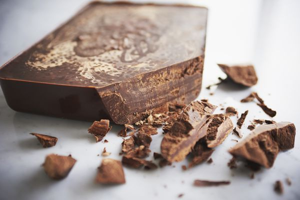 Ageing chocolate