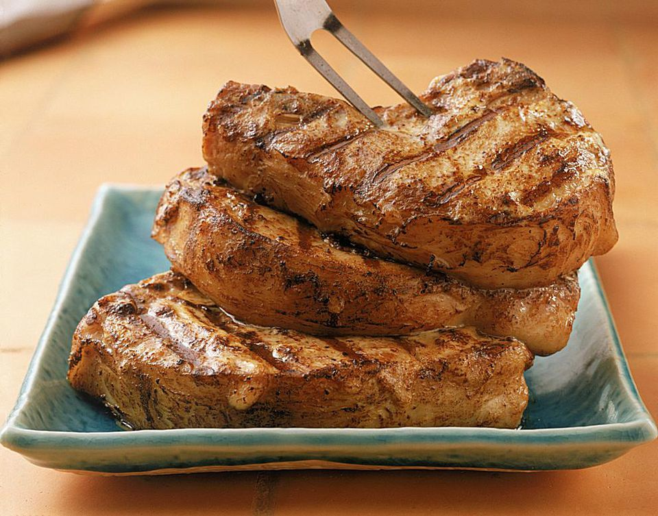 Paprika Pork Chops With Ginger and Soy Sauce Recipe