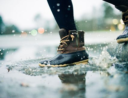Image result for washing footwear with water