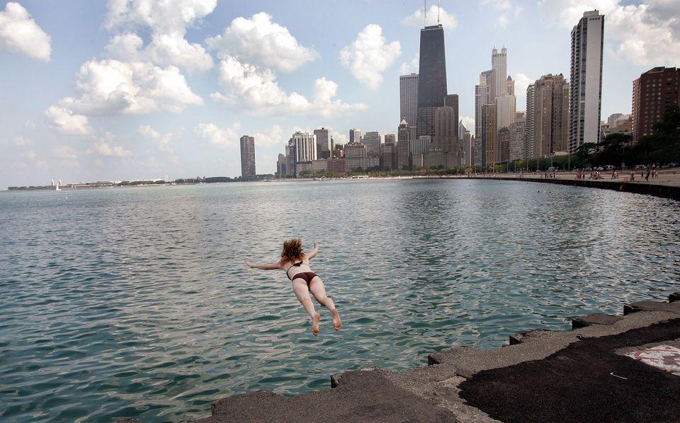 Chicago swimmer