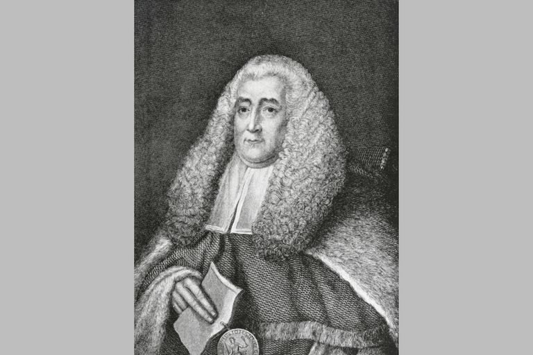 Sir William Blackstone (1723 - 1780)