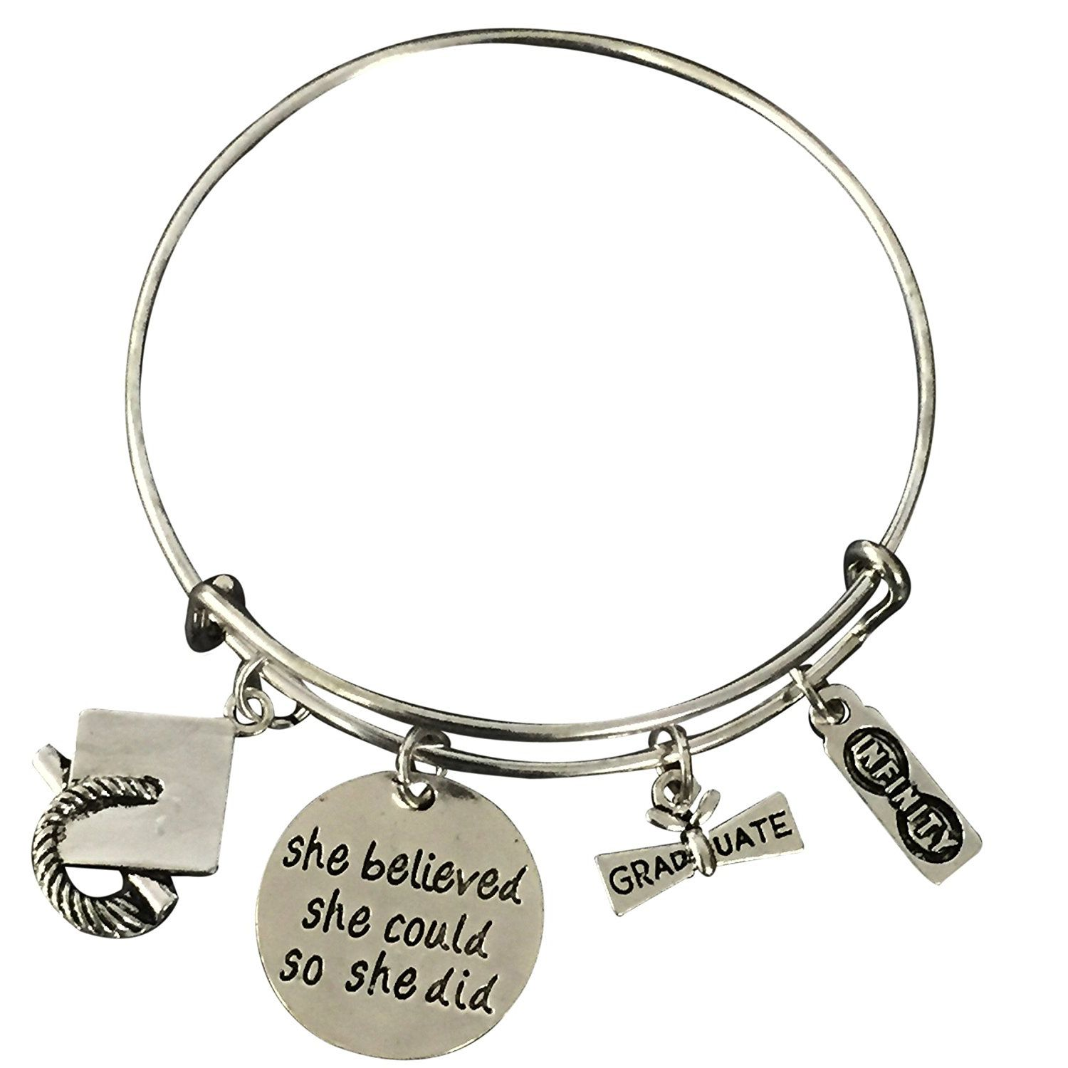 gift graduation bedb custom contagious bracelet designs products