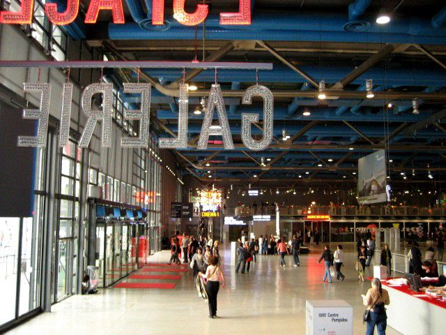 The Centre Pompidou's Modern art museum participates in Paris Museum Night.