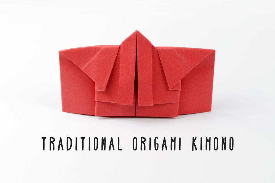 origami kimono instructions