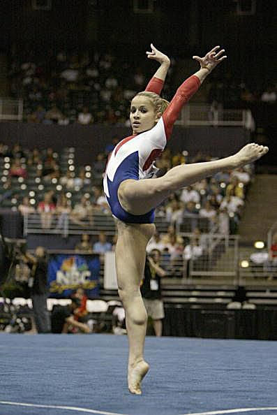 Alicia Sacramone on Floor at the 2004 Pacific Alliance Championships