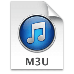 Picture of the M3U file icon