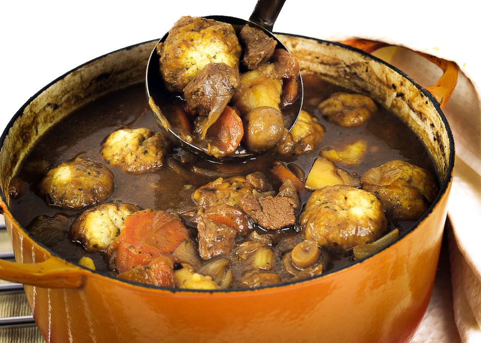 Traditional british beef stew and dumplings recipe forumfinder Choice Image