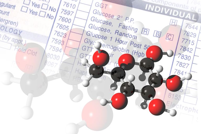 Glucose Molecules, illustration