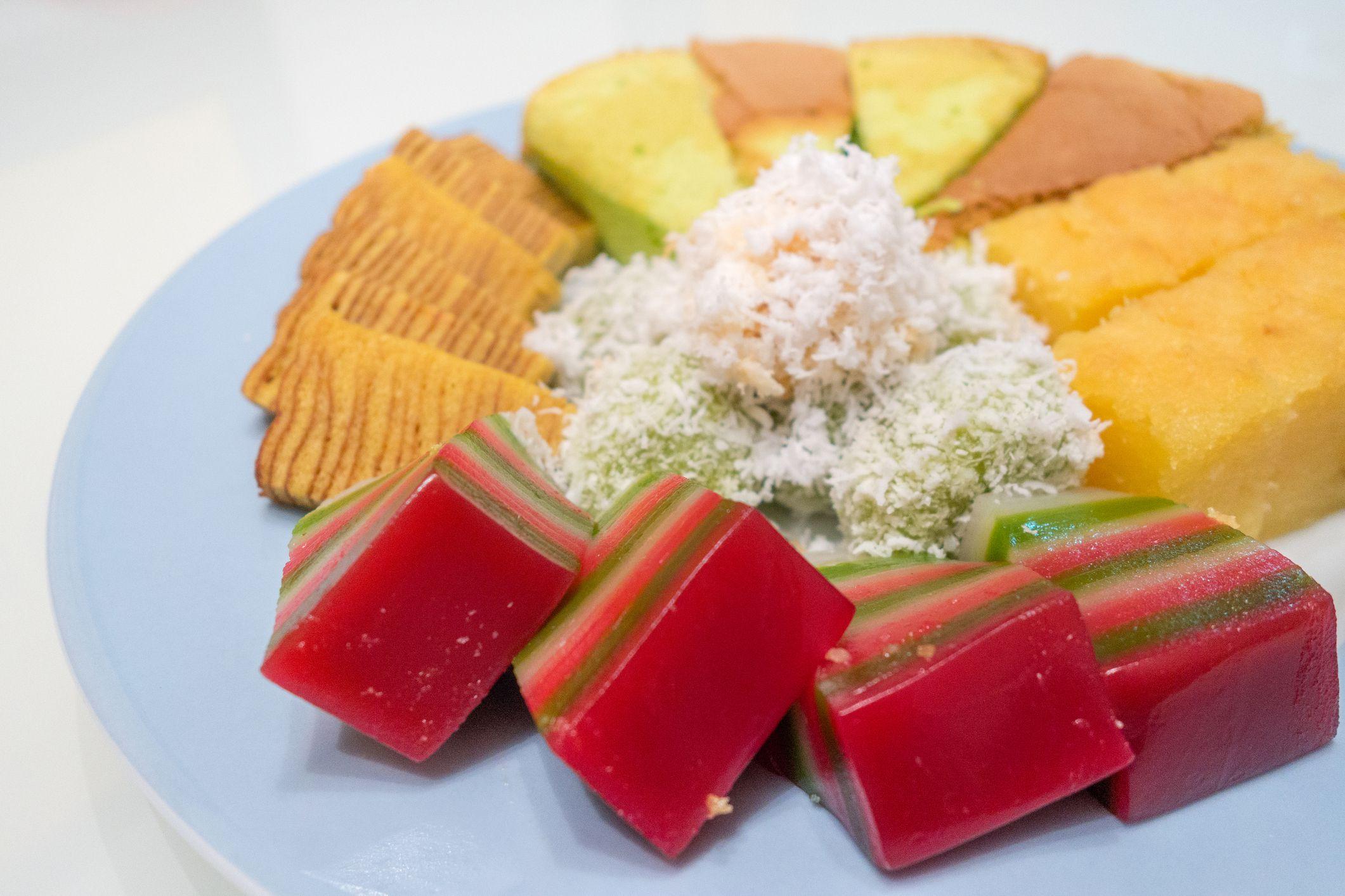 Sticky Rice Layer Cake Recipe