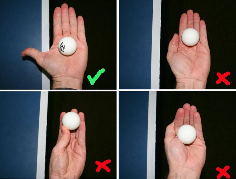 Photo of Ways to Hold the Ball Before Service