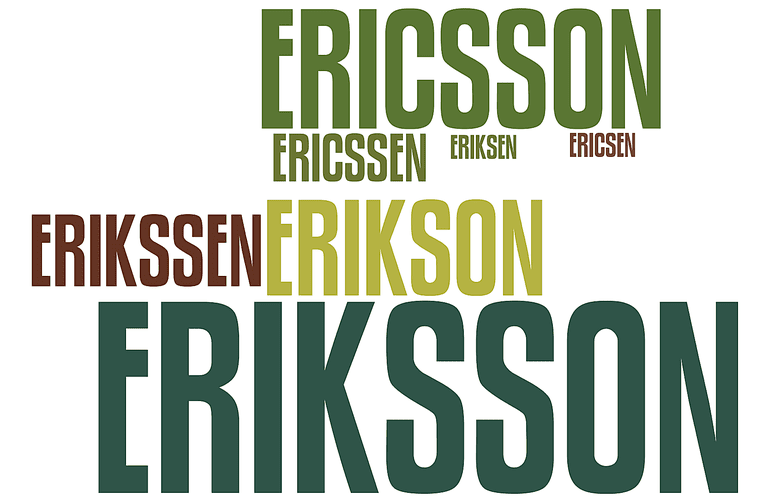 Eriksson surname meaning and origin