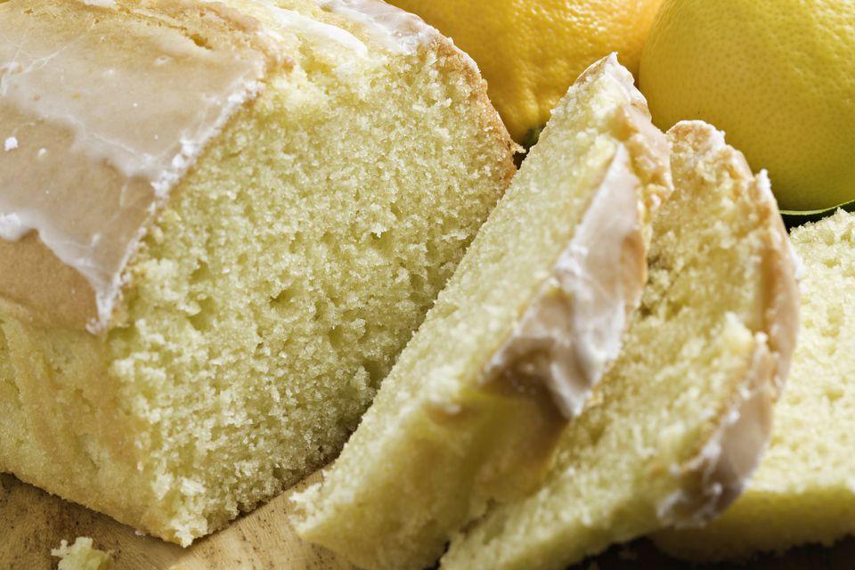 Fresh Lemon Pound Cake