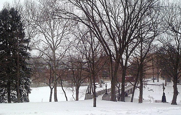 Snowstorm at Emporia State