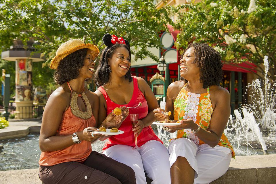 Guests at the 18th Annual Epcot International Food & Wine Festival