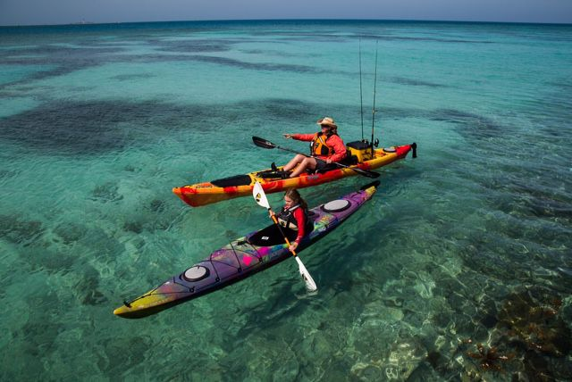 Visit key west top things to do in key largo for Kayak fishing florida