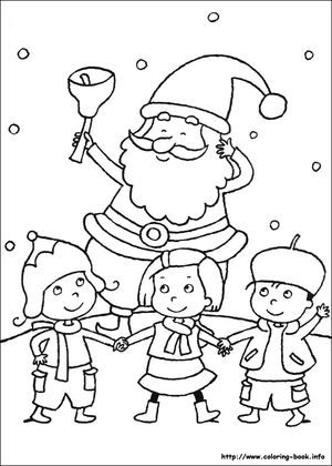 coloring books free christmas coloring pages - Free Christmas Coloring Pages