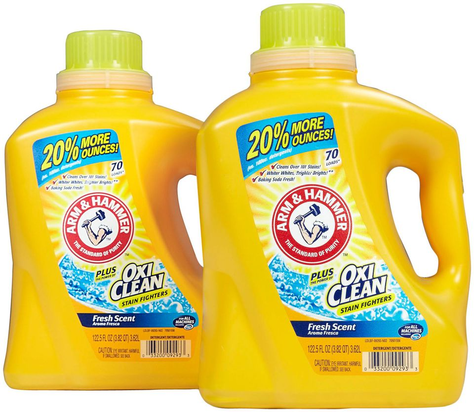 Arm And Hammer Plus Oxiclean Laundry Detergent Review