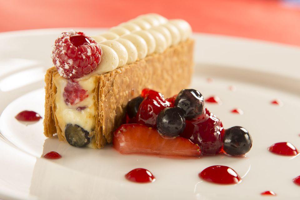 Dessert at Monsieur Paul
