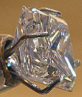 fire in a cut diamond