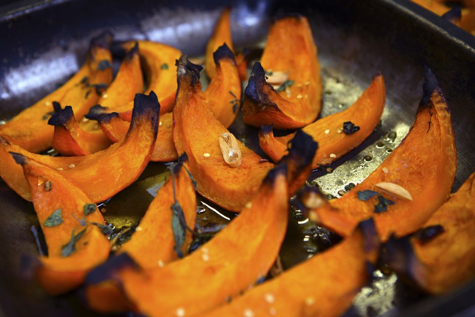 Roasted Squash Wedges
