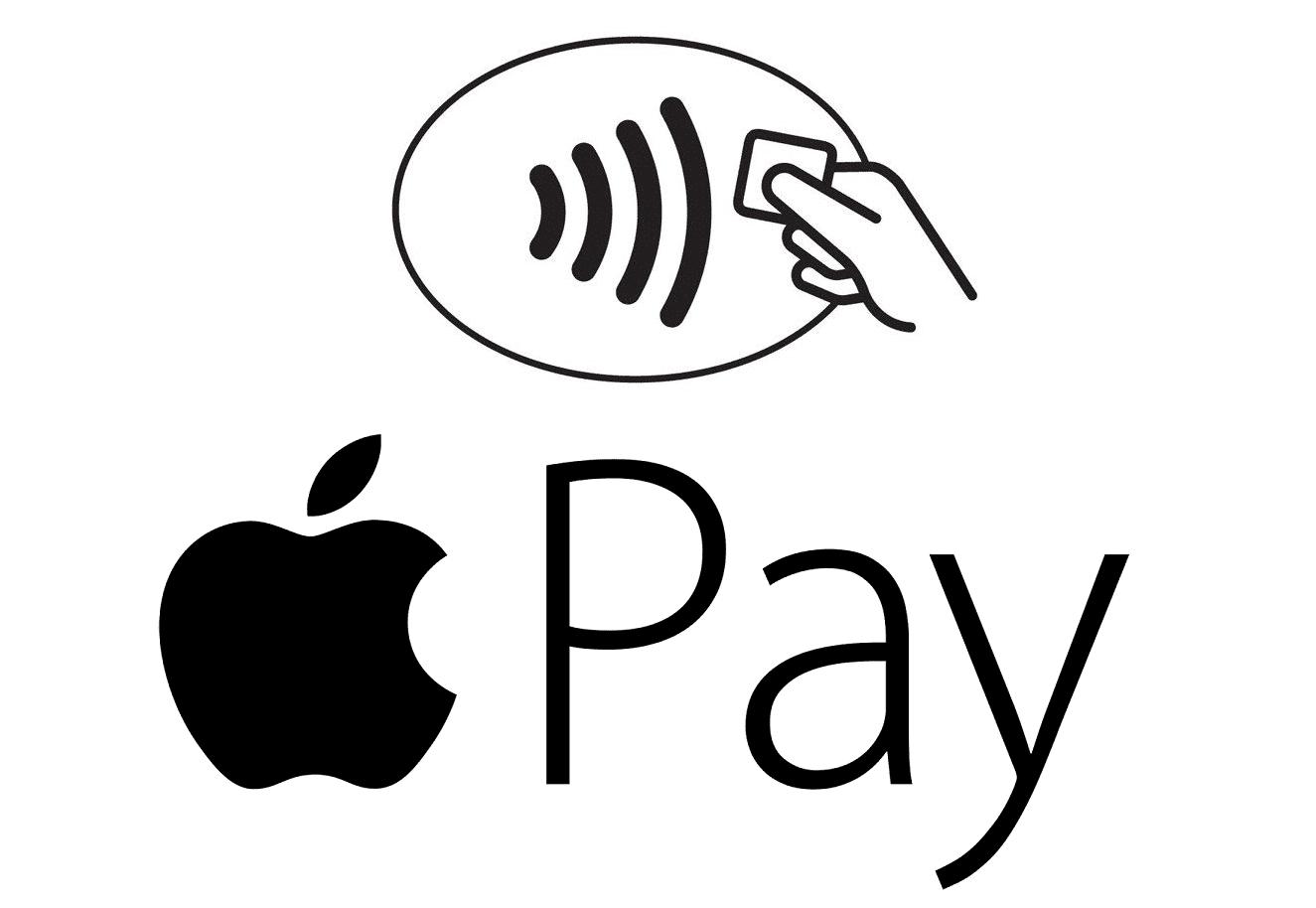 Apple Pay symbols.