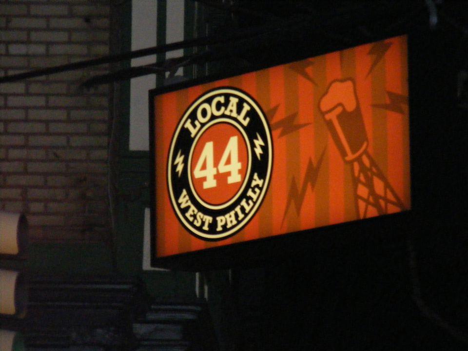 Local 44 sign