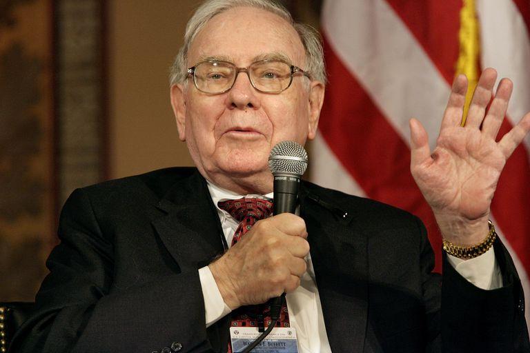 Warren Buffett 20 Ticket Punch Card