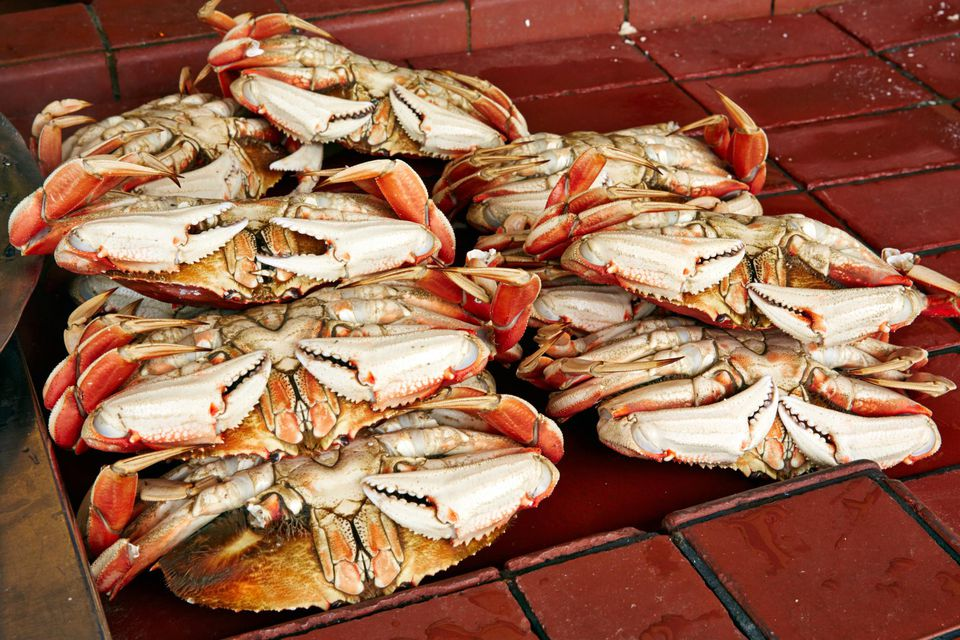 Dungeness crabs, San Francisco