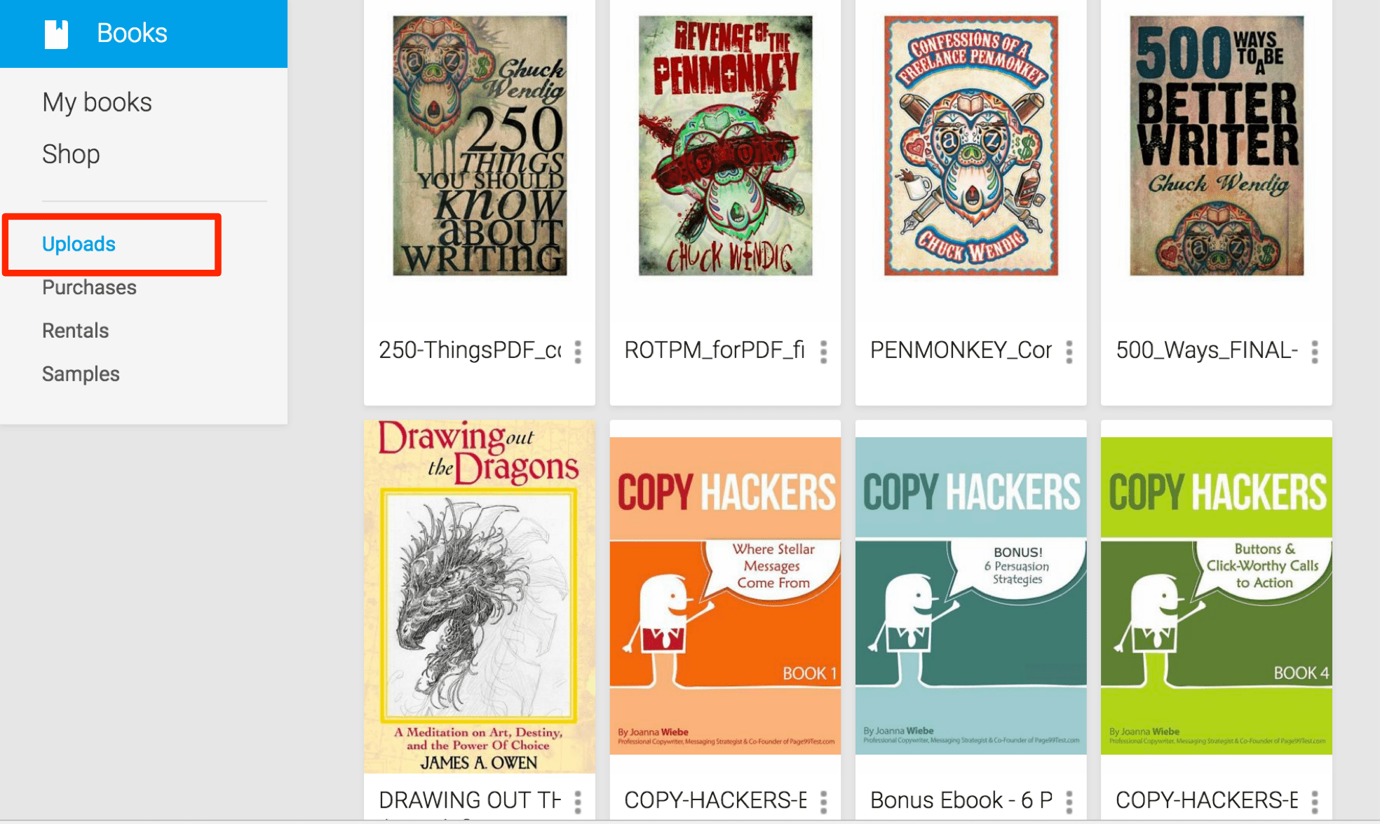 How to Upload Your Own E-Books to Google Play Books
