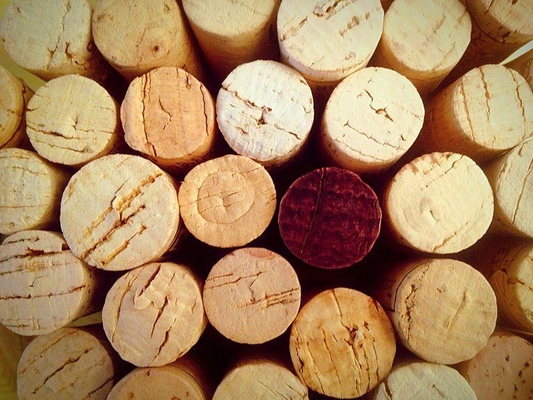 Full frame shot of winecorks