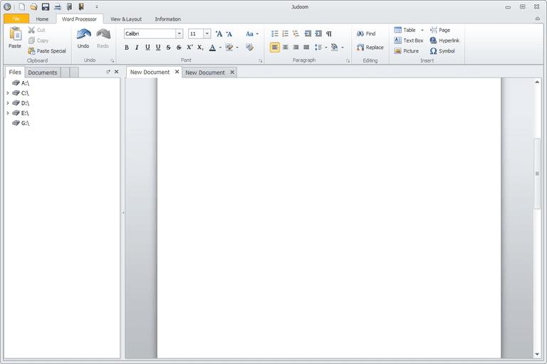 Screenshot of Judoom in Windows 8