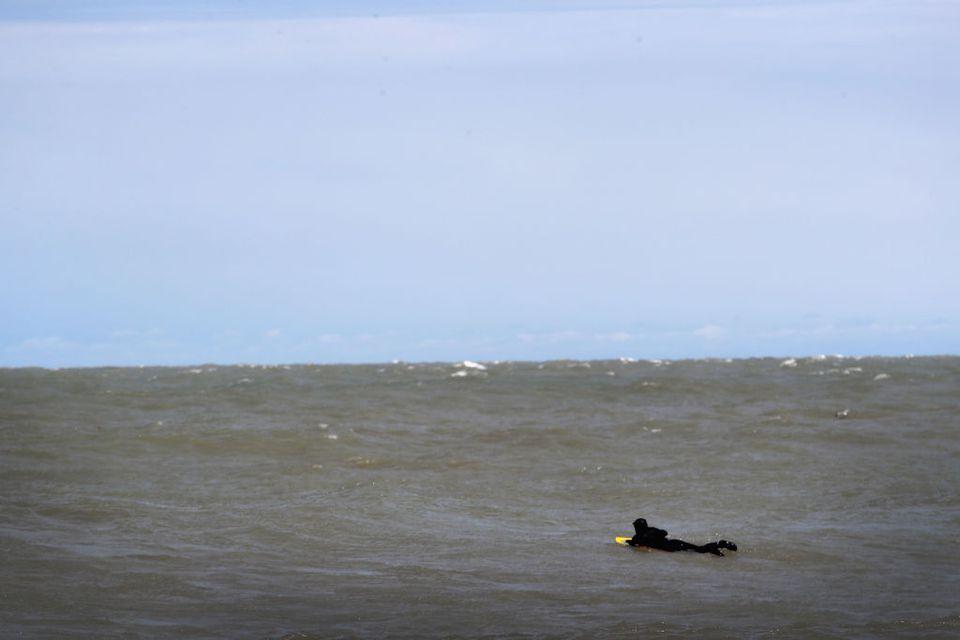 Surfing Sheboygan, Wisconsin