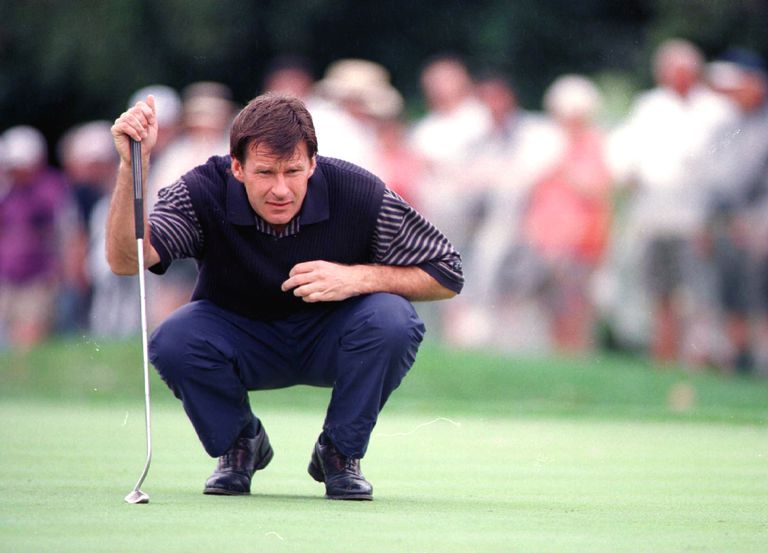 Nick Faldo at the 1996 Ryder Cup