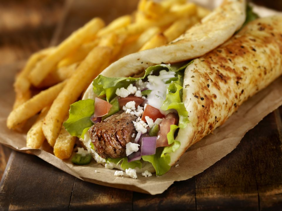 how to make a pitta wrap