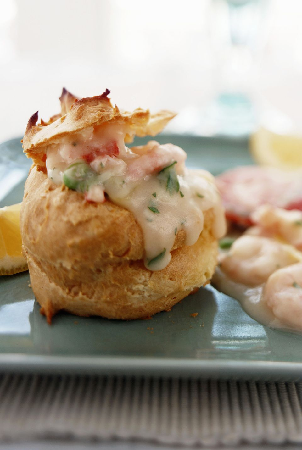 Seafood Puff Pastry