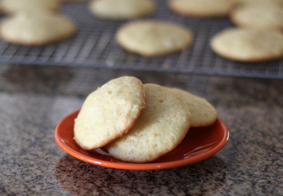 Orange Coconut Cookies