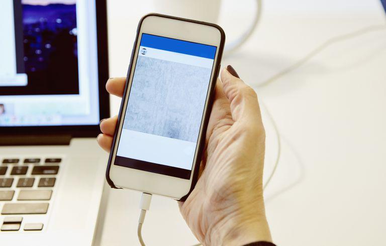 smartphone and desk