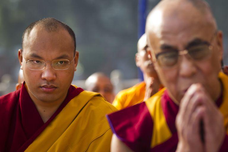 17th Karmapa With Dalai Lama